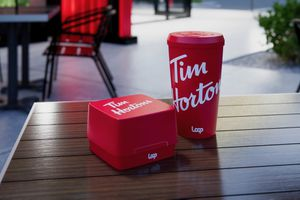 Tim Hortons reusable containers