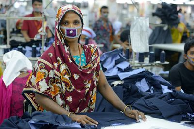 Bangladeshi garment worker