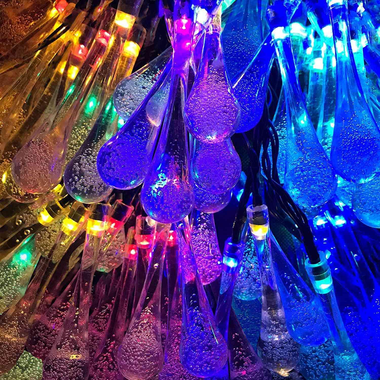 Lemontec Solar String Lights