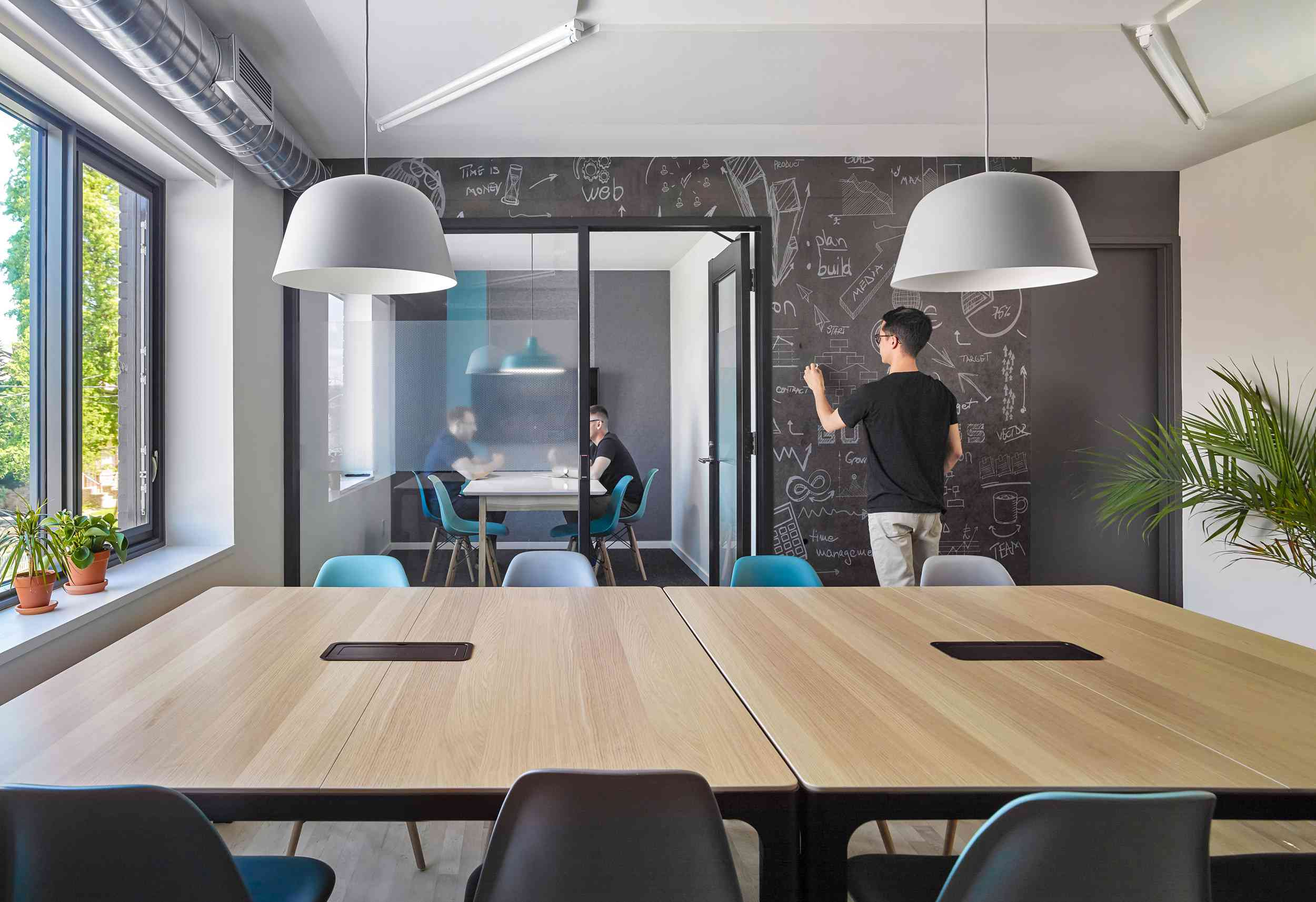 Inside co-working spaces at Locaal