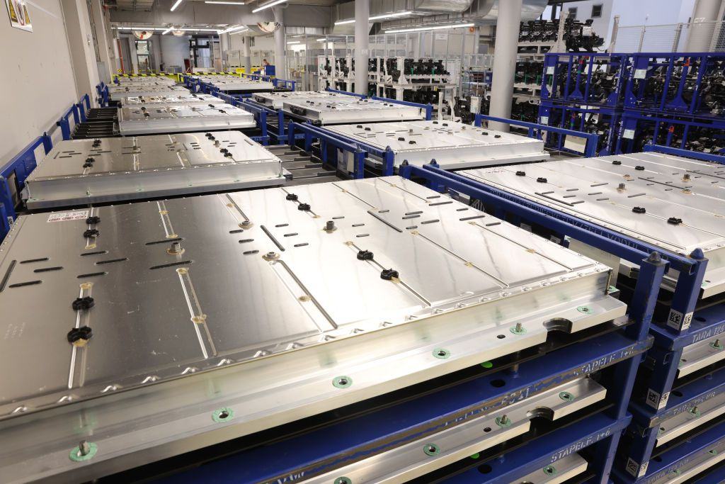 Batteries destined for Volkswagen ID.3 electric cars