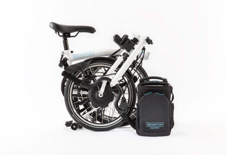 Bicicleta eléctrica plegable de liberación Brompton con 50 millas de alcance