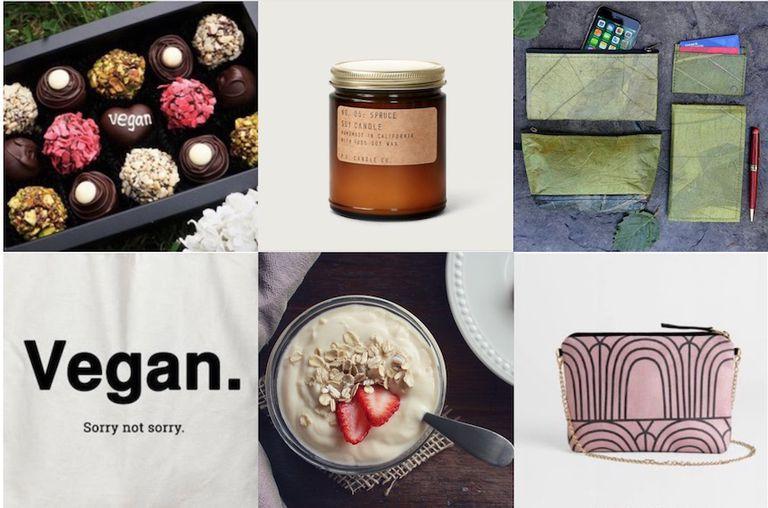 vegan gift guide, chocolate, oats, jar, bag
