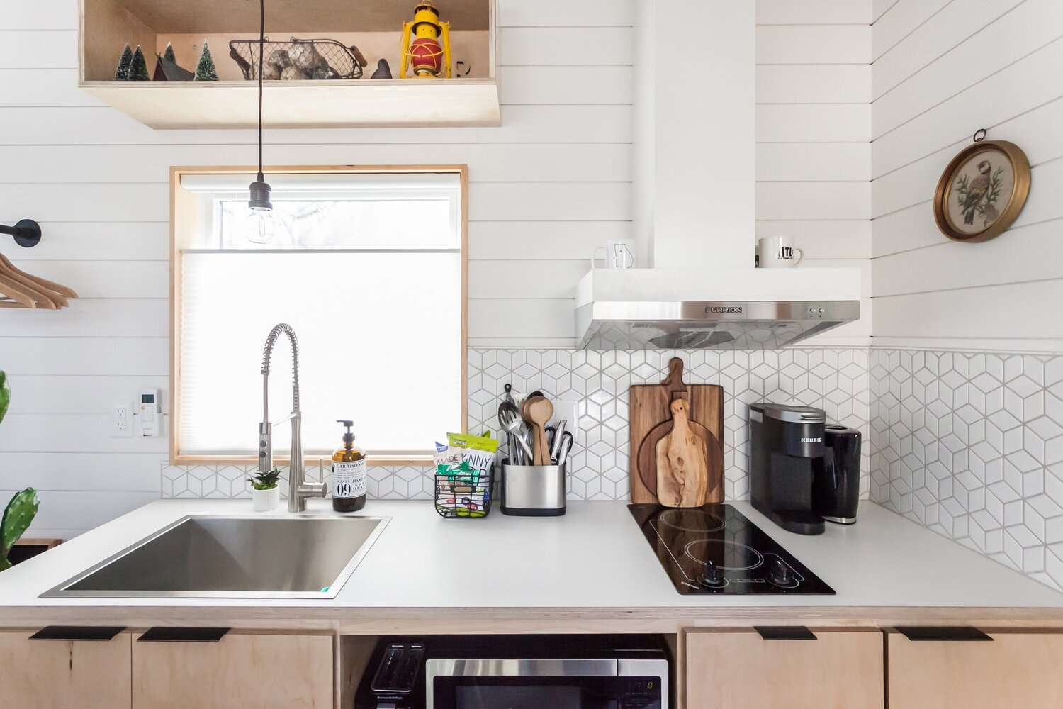 tiny house 2 for rent kitchen