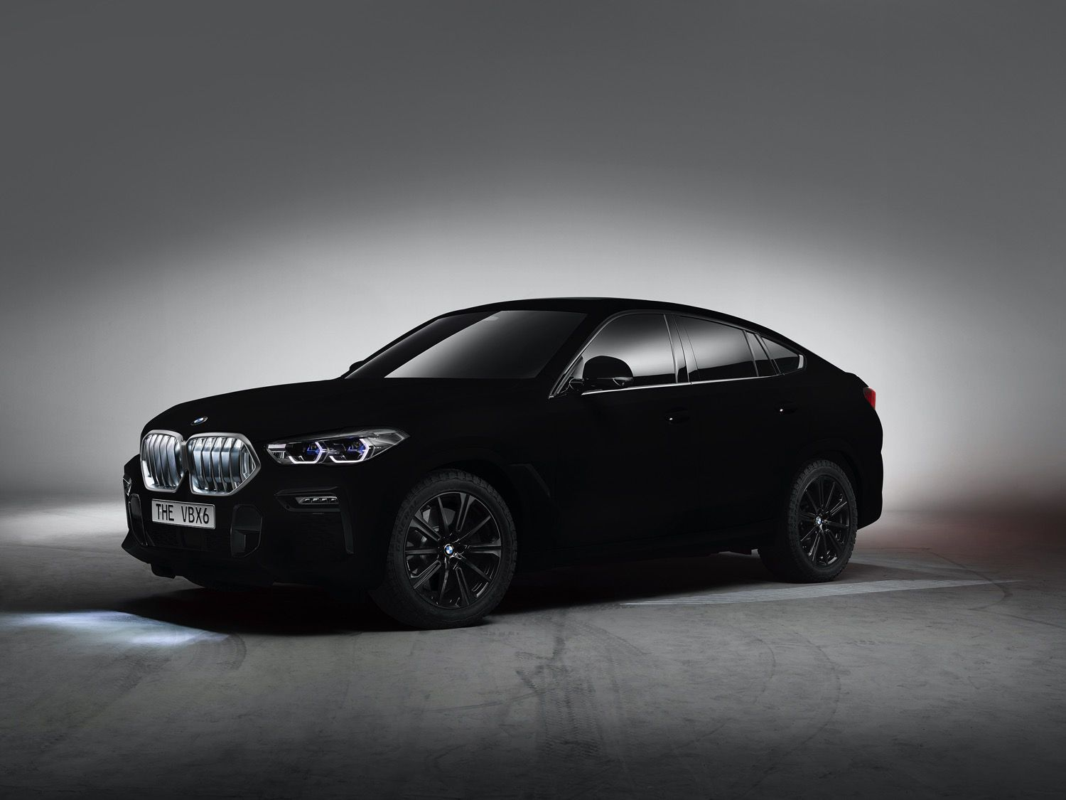 Sideview of BMW ca