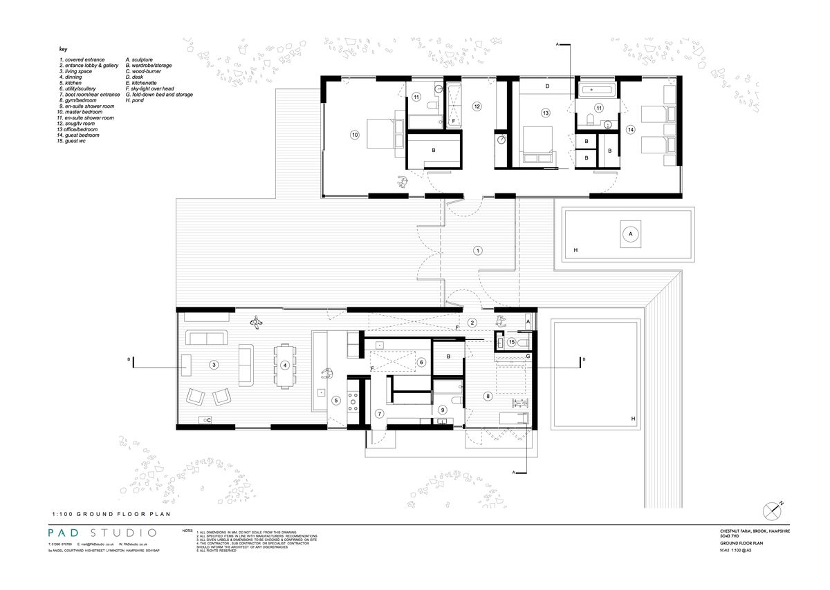 Plans of units