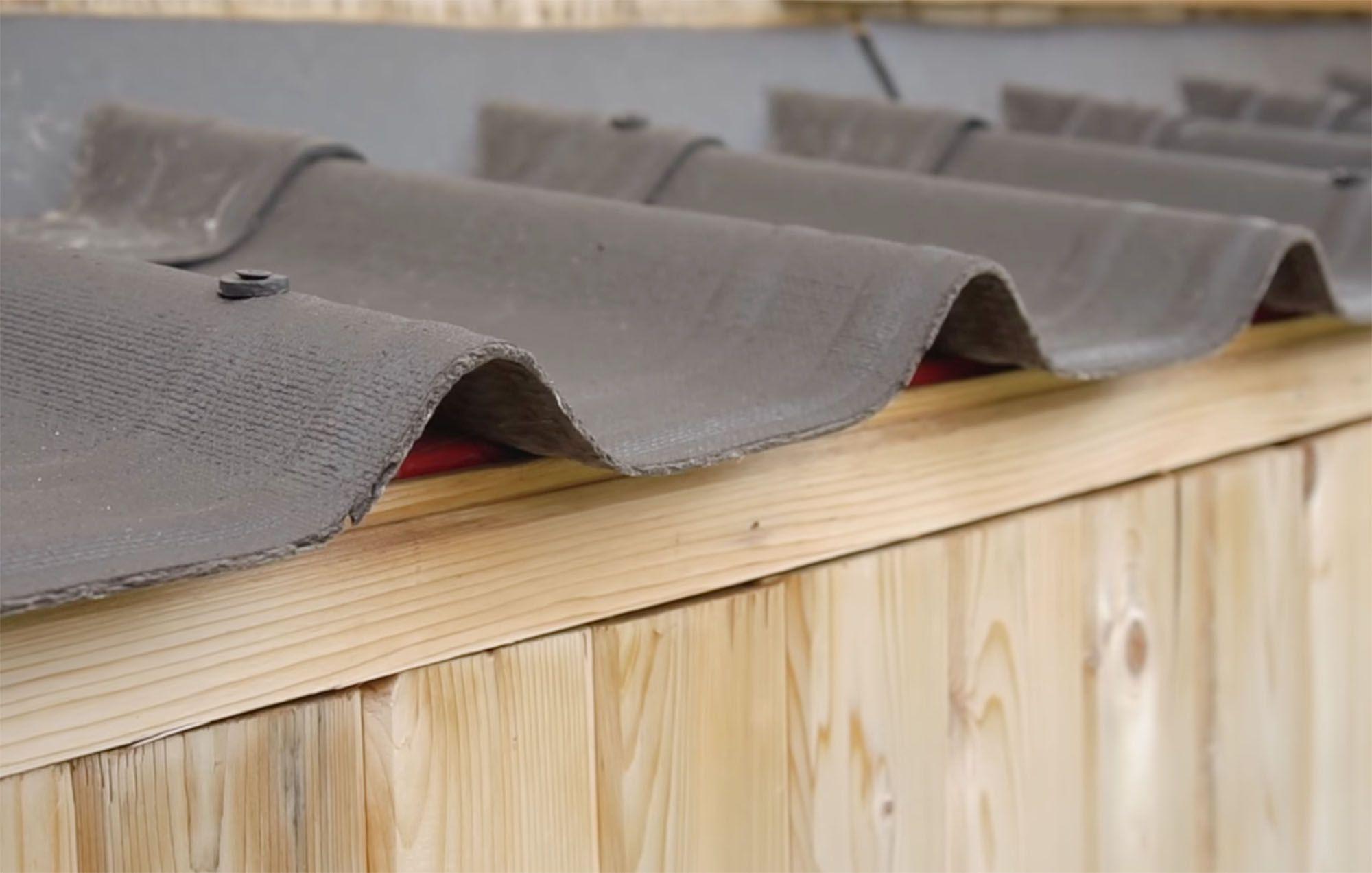 family of three diy tiny house transformer furniture roof shingles