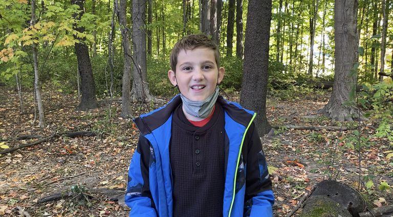 Leo Berry in wetlands in Indiana