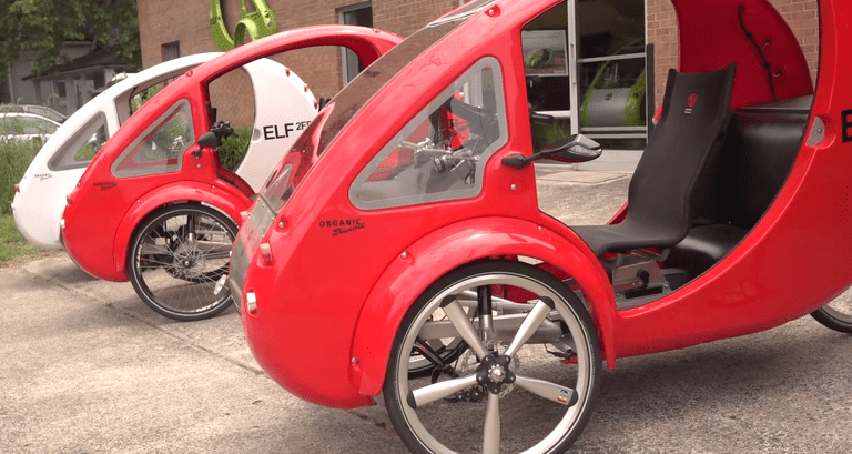 Cómo nació el híbrido ELF Solar-Trike de Organic Transit