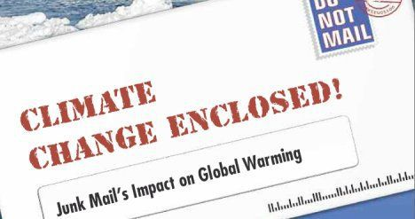 junk mail global warming forest ethics image