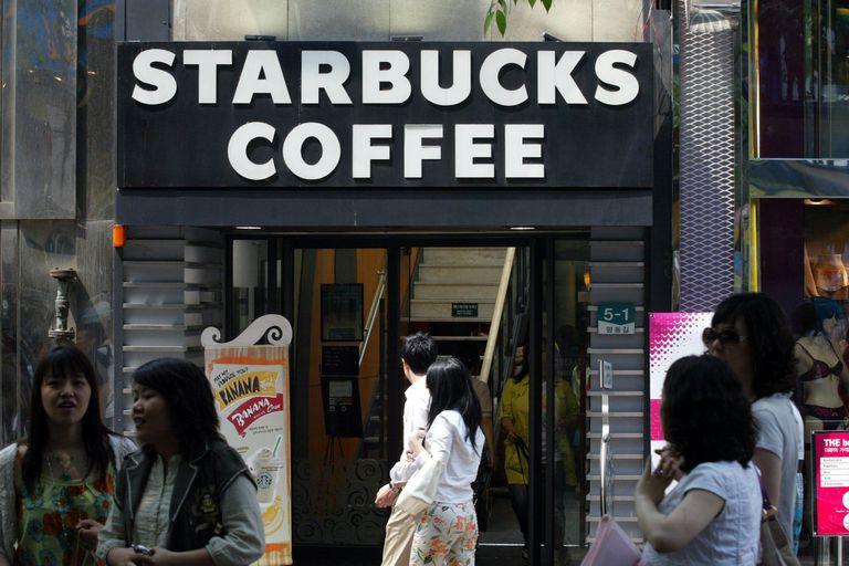 Starbucks Coffee, Seoul