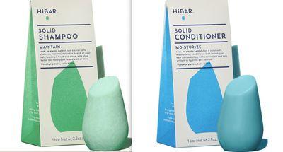 HiBAR shampoo and conditioner