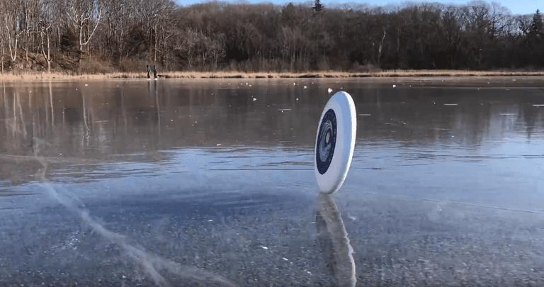 Cómo hice accidentalmente un video viral en un lago congelado en Maine, y me divertí mucho haciéndolo