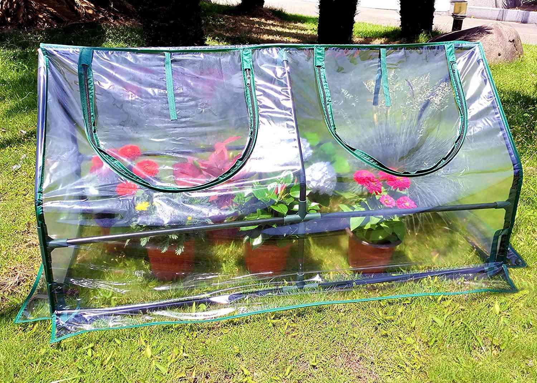 Zenport SH3212A Garden Cold Frame Greenhouse Cloche