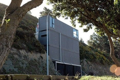 ross stevens shipping container house