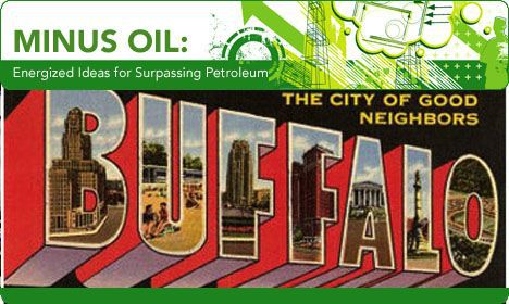 minus oil move to buffalo image bufalo postcard