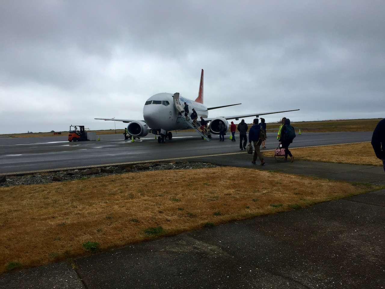 This plane took me to Haida Gwaii