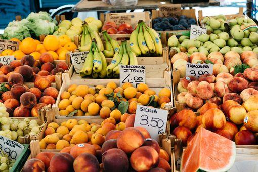 Fruit market in Italy