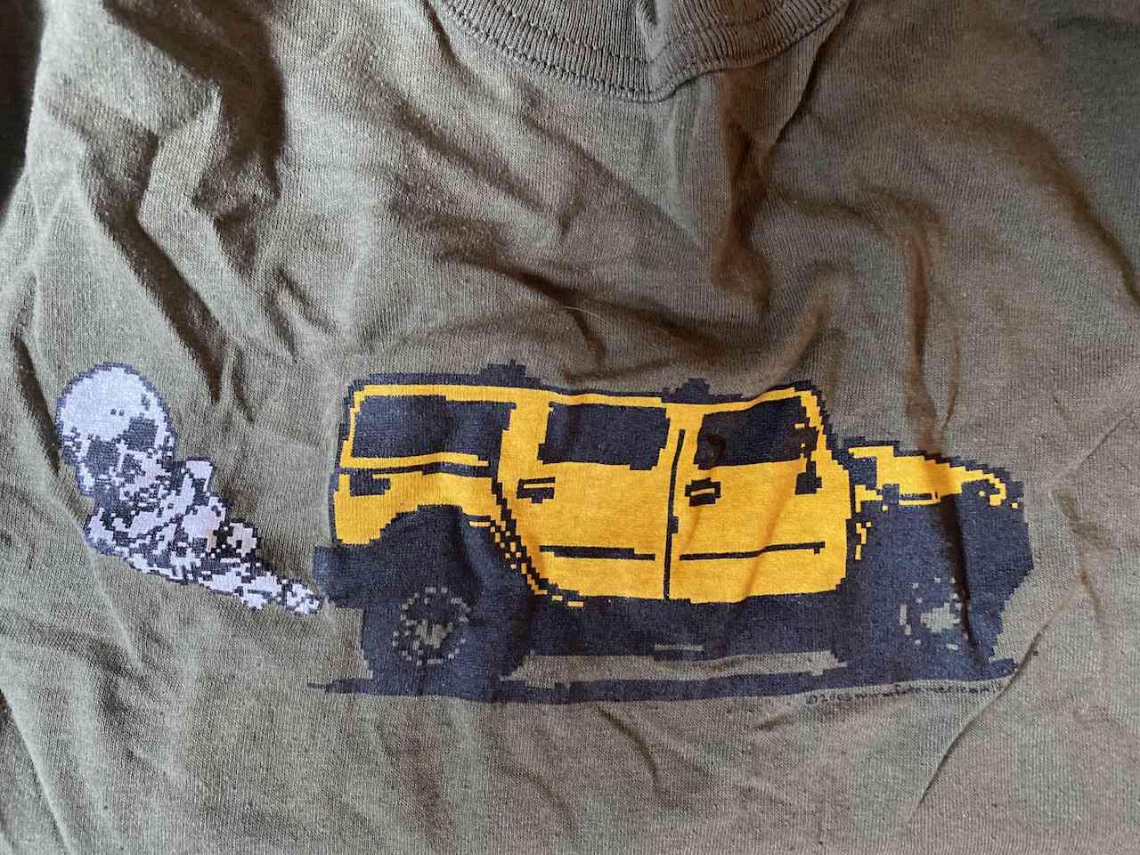 My old Hummer T-shirt