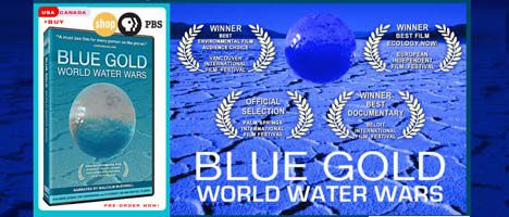 blue gold water documentary image
