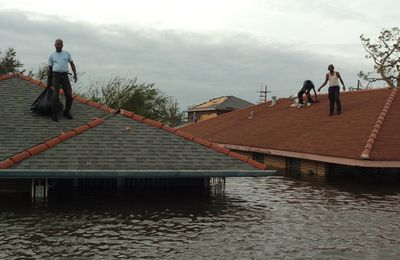 Hurricane Katrina rescue efforts