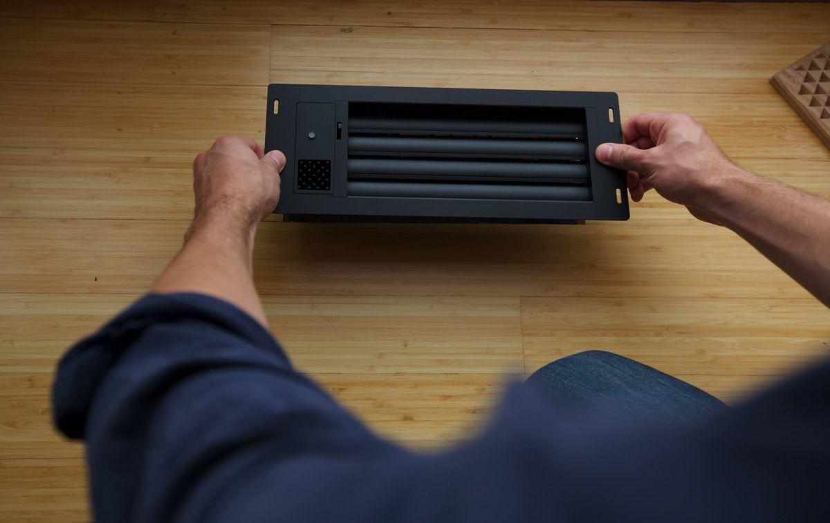 floor install vent