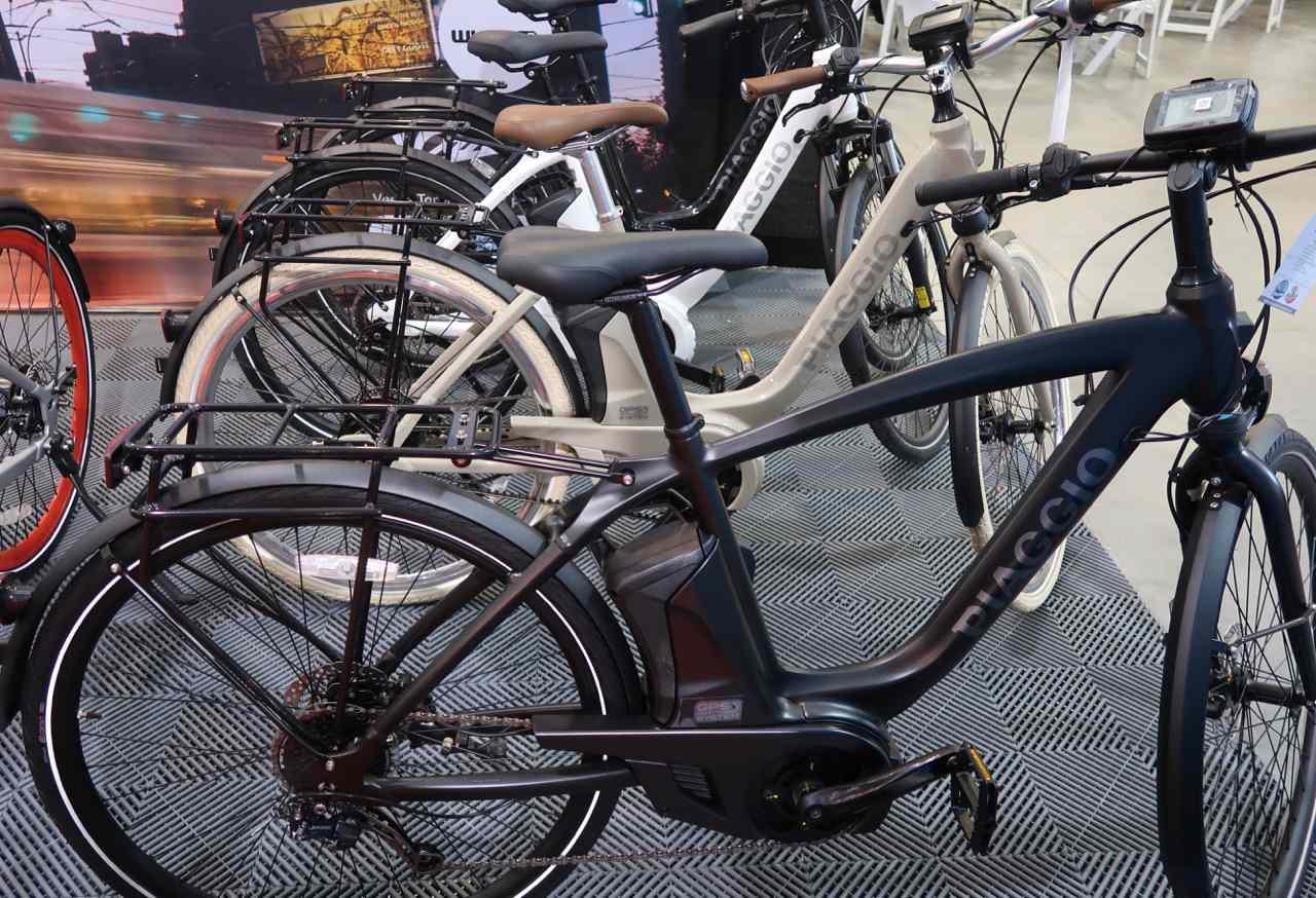 Piaggio electric bikes