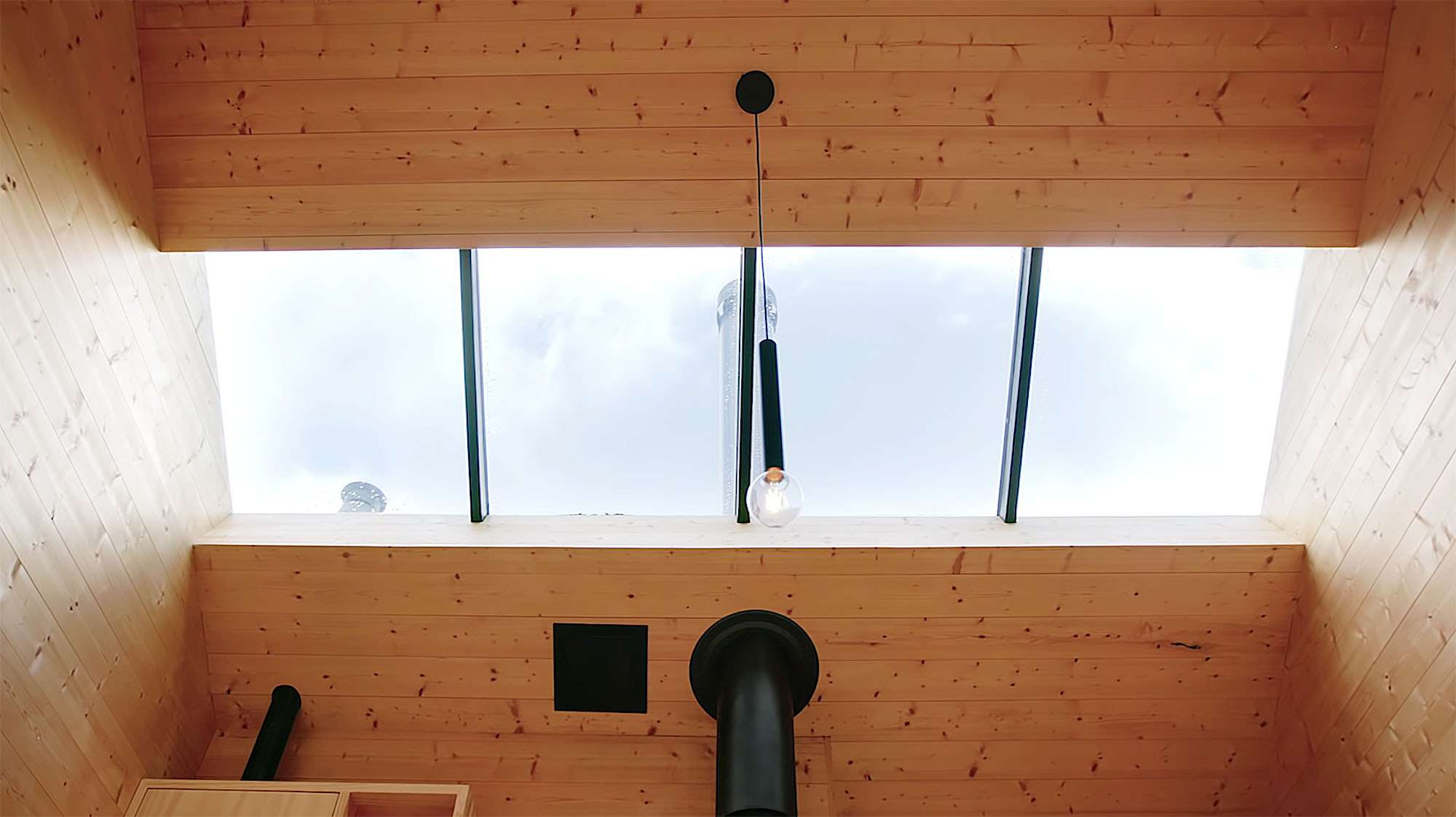 Bruny Island Hideaway by Maguire + Devin skylight