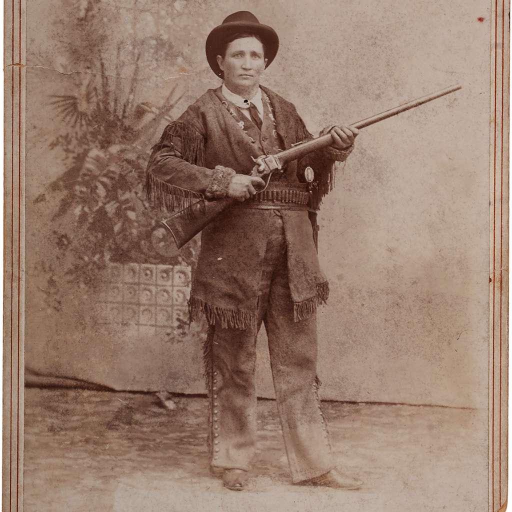 Martha Jane Cannary, best known as 'Calamity Jane'