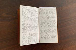 A travel journal dated December 12, 2019
