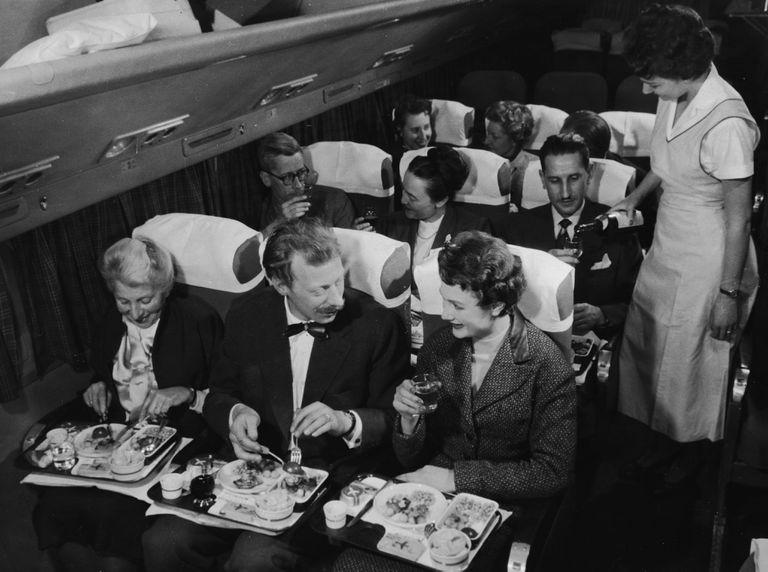 Dining In Flight