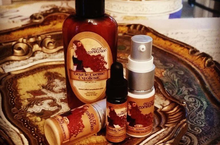 Celtic Complexion produce productos puros y lujosos para el cuidado de la piel