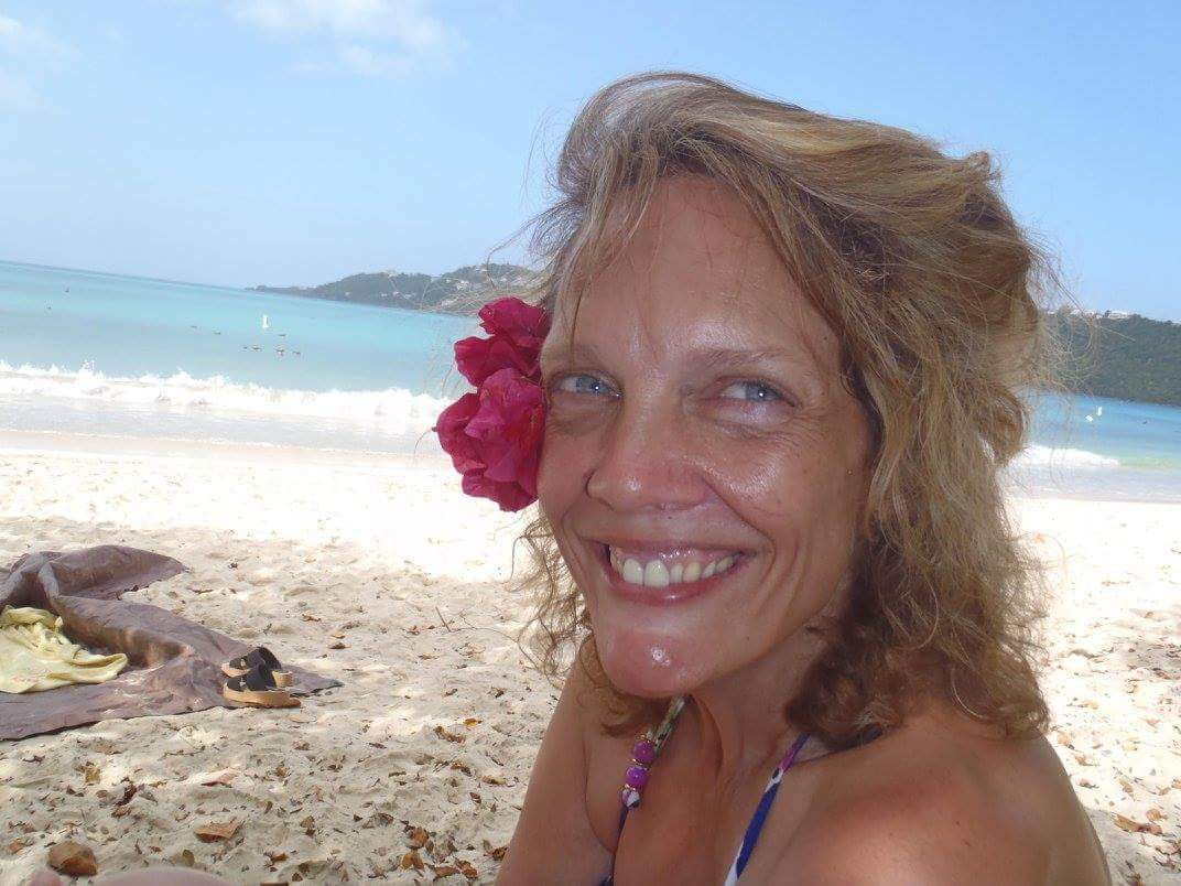 Maureen Murphy in the Virgin Islands