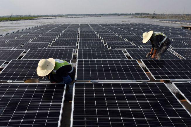 China lanza la granja solar flotante más grande del mundo