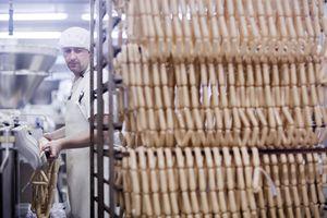 making tofu sausages