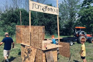 Fort Knox, built by children