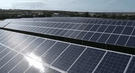 Wadebridge solar town