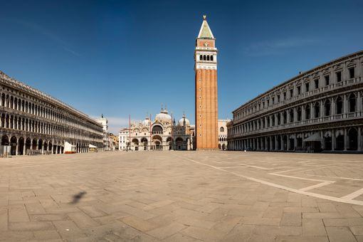 empty St Mark's Square
