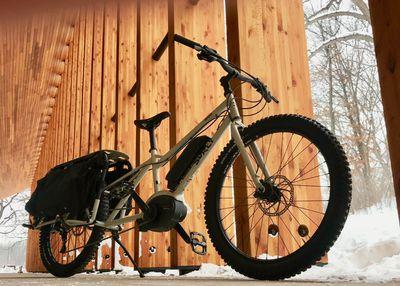 Big Easy bike has a nominal 250 watt motor with peak power of 600 watts when you need it.