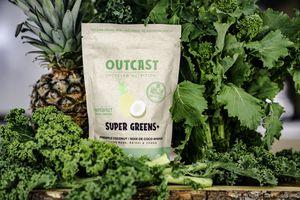 Outcast Foods Super Greens powder