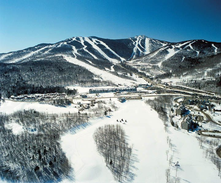 killington resort winter photo