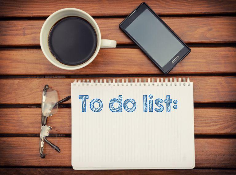 Por qué necesita una lista de tareas mucho más relajada