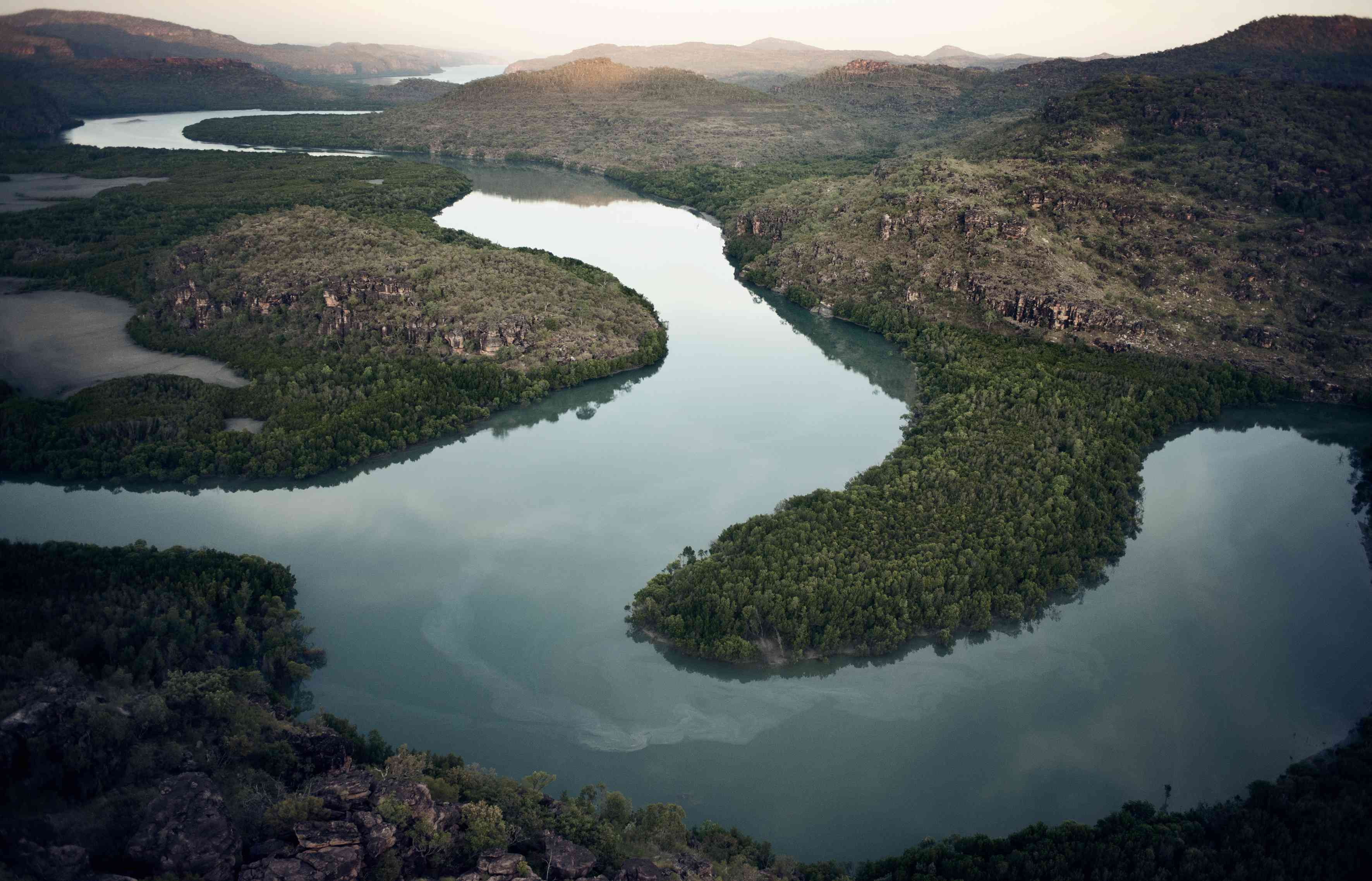 Hunter River estuary, Kimberley, Australia. © Peter & Beverly Pickford, from Wild Land by Peter & Beverly Pickford.