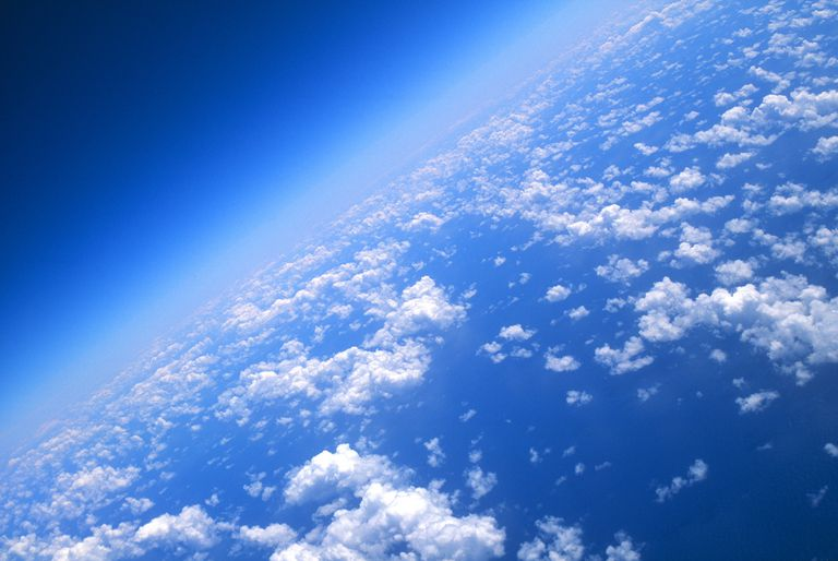 View from 40,000 feet above the earth