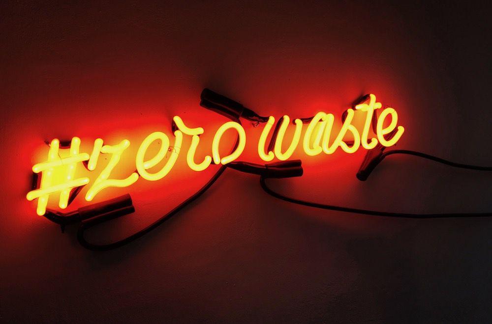 zero waste sign