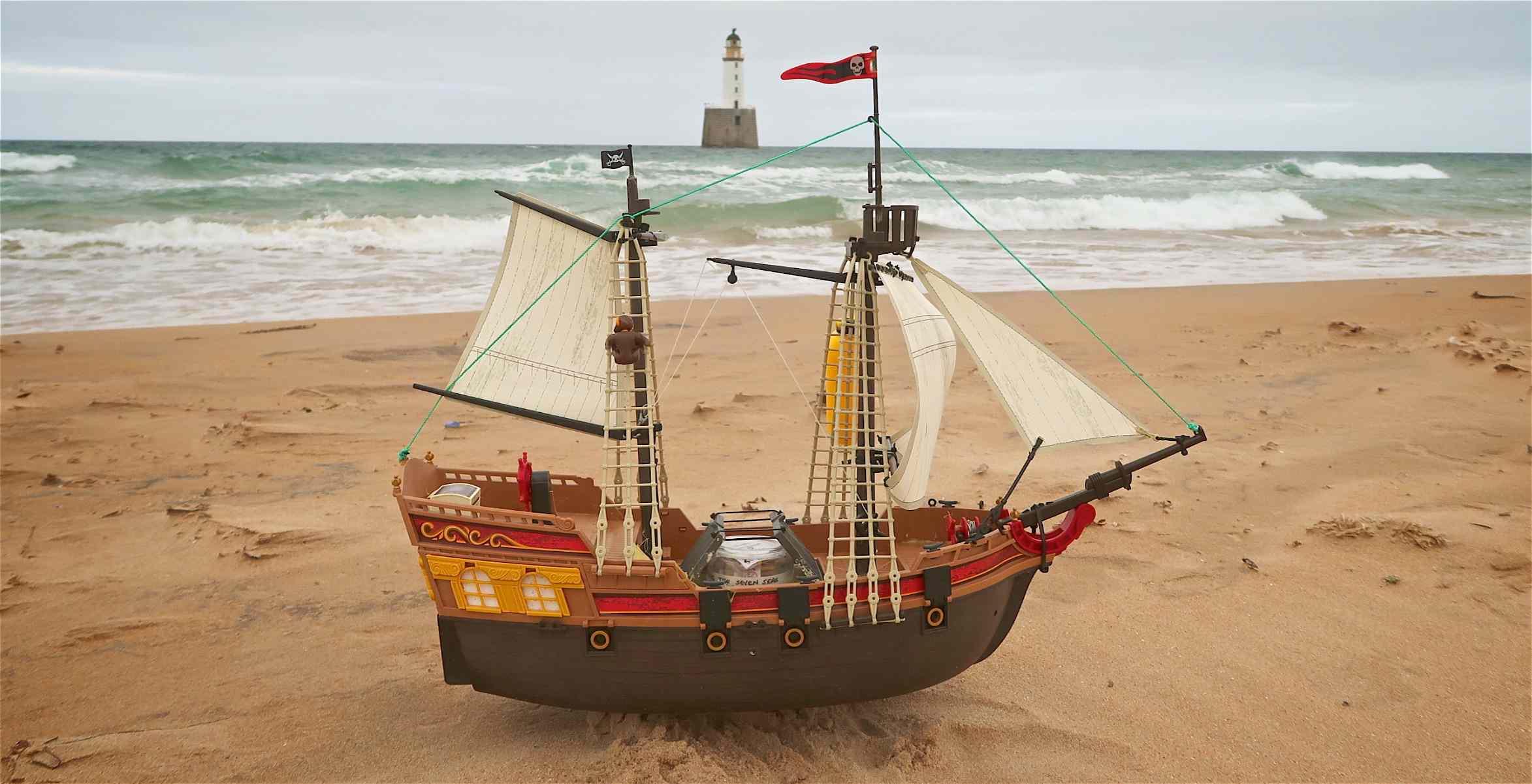 The Adventure pirate ship