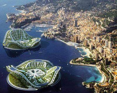 A futuristic design for offshore living