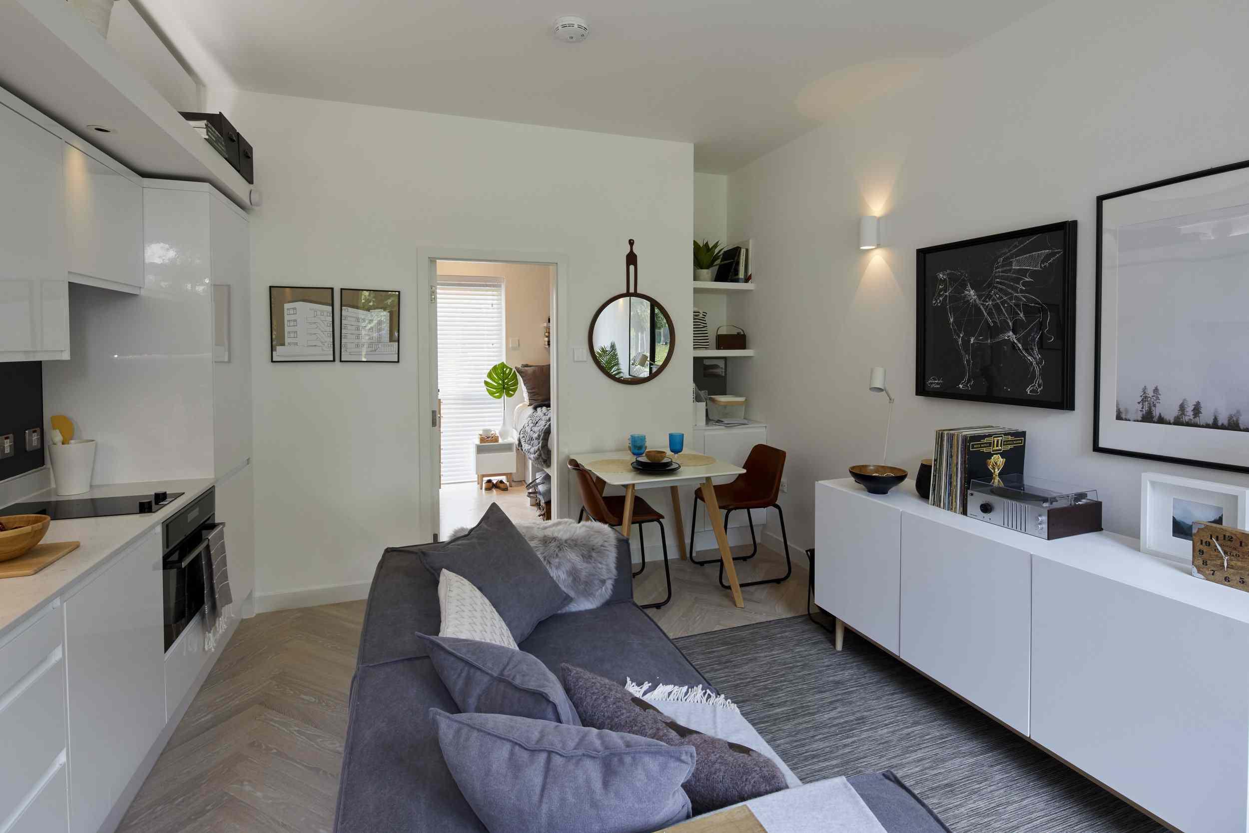 Living room looking to bedroom
