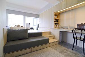 micro apartment renovation Design Eight Five Two interior