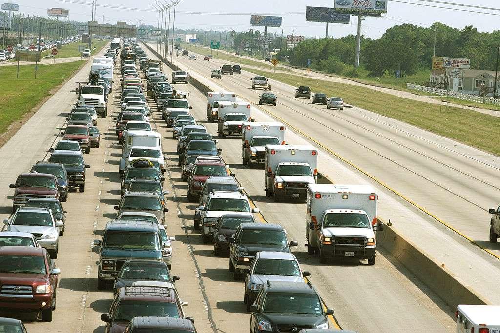 traffic jam I-45